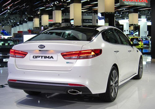 Kia Optima rear