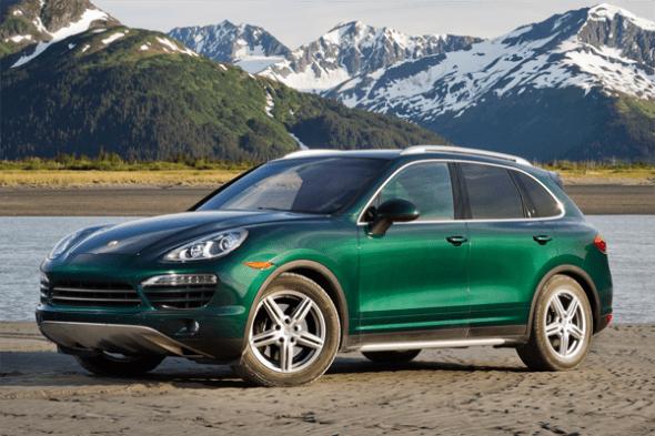 Porsche Cayenne US car sales figures