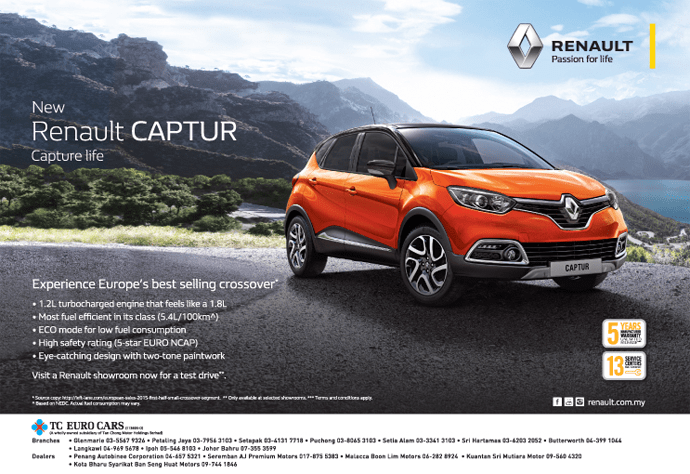 Renault Malaysia Quotes Left Lane Com As Data Source