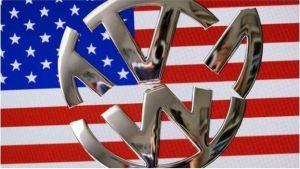 VW logo broken