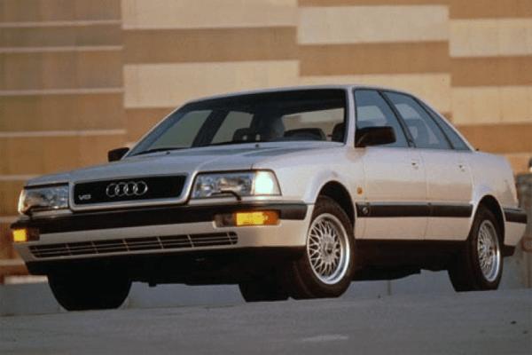 Audi V US Car Sales Figures - Audi v8