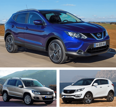 Midsized_SUV-segment-European-sales-2015-Nissan_Qashqai-Volkswagen_Tiguan-Kia_Sportage