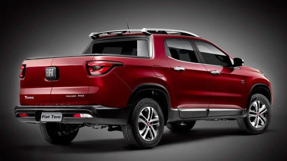 Fiat Toro pick-up rear