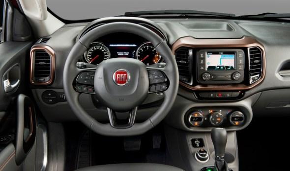 Fiat Toro Dashboard