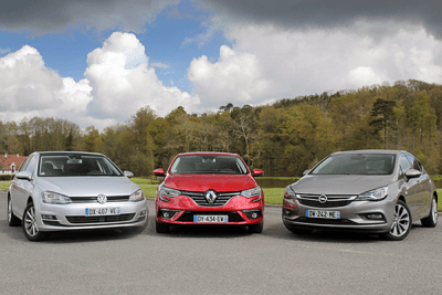 European-car-sales-analysis-April_2016-Volkswagen_Golf-Renault_Megane-Opel_Astra
