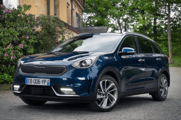 Auto Sales Europe Data: Kia Niro European Sales Figures