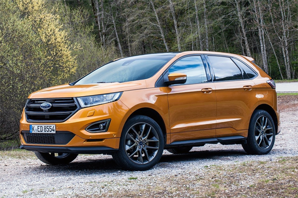 Auto Sales Europe Data: Ford Edge European Sales Figures