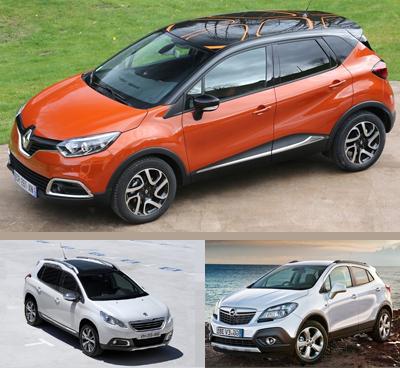 Small_crossover-segment-European-sales-2016_Q2-Renault_Captur-Peugeot_2008-Opel_Mokka