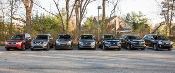 US-sales-compact_SUV-segment-2016-Subaru_Forester-Nissan_Rogue-Chevrolet_Equinox-Mazda_CX5-Honda_CRV-Toyota_RAV4-GMC_Terrain
