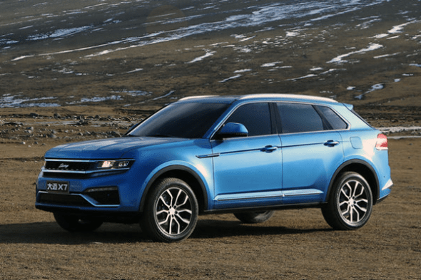 Auto-sales-statistics-China-Zotye_Damai_X7-SUV