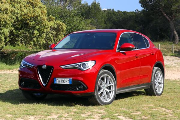Alfa Romeo Stelvio European Sales Figures