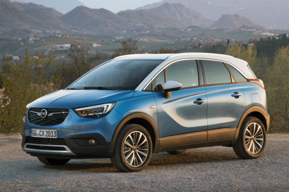 opel vauxhall crossland x european sales figures. Black Bedroom Furniture Sets. Home Design Ideas