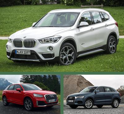 Compact_Premium_Crossover-segment-European-sales-2017-BMW_X1-Audi_Q2-Audi_Q3