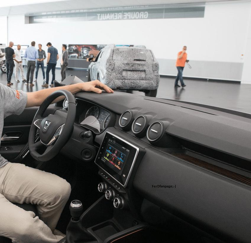 Dacia Duster interior - carsalesbase.com