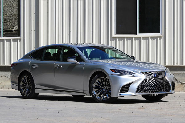 Lexus LS US car sales figures