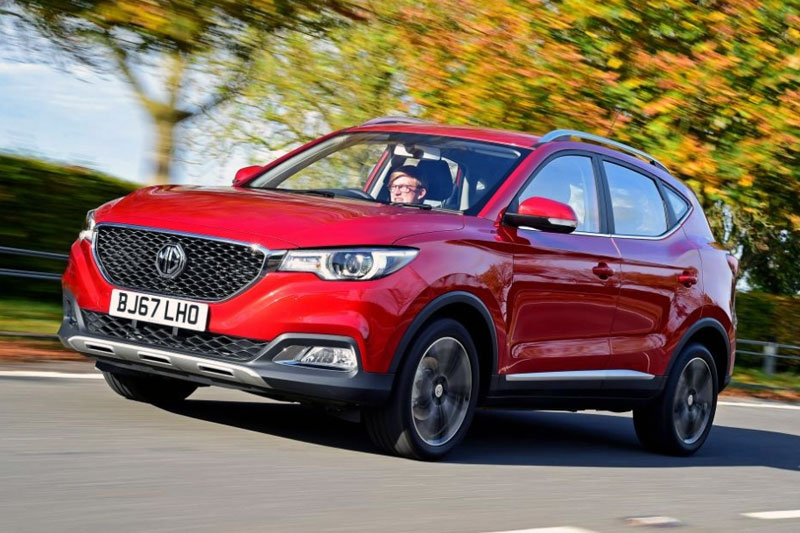 MG ZS European And UK Sales Figures