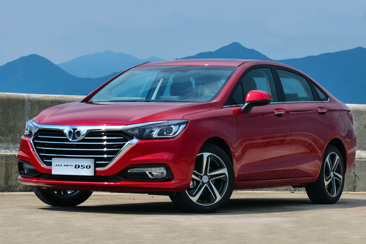 Baic Beijing Senova D50 China Auto Sales Figures