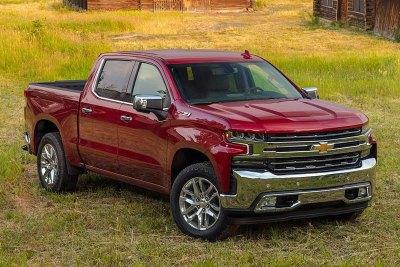 Chevrolet US car sales figures