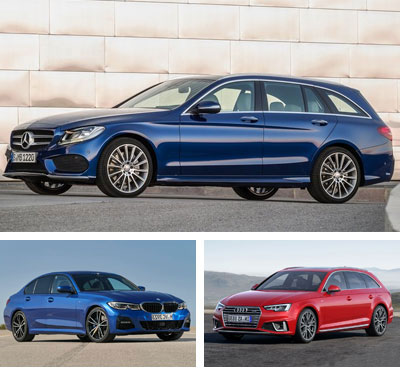 Audi European Delivery >> European Sales 2019 H1 Premium Midsized Segment
