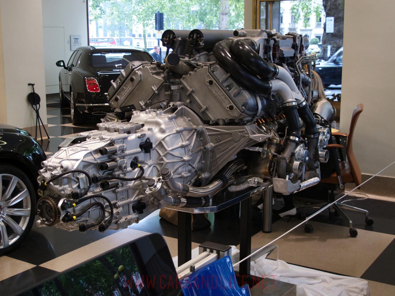 Bugatti Veyron W16 Engine And Gearbox At Hr Owen London