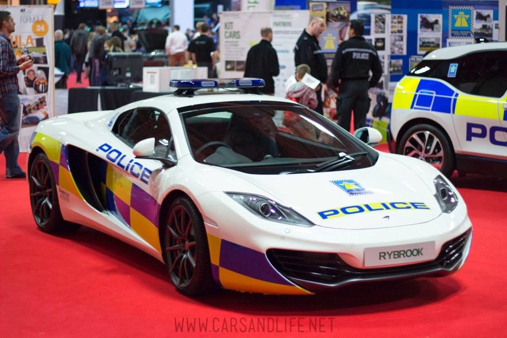 Autosport 2014 Police Cars McLaren BMW 3