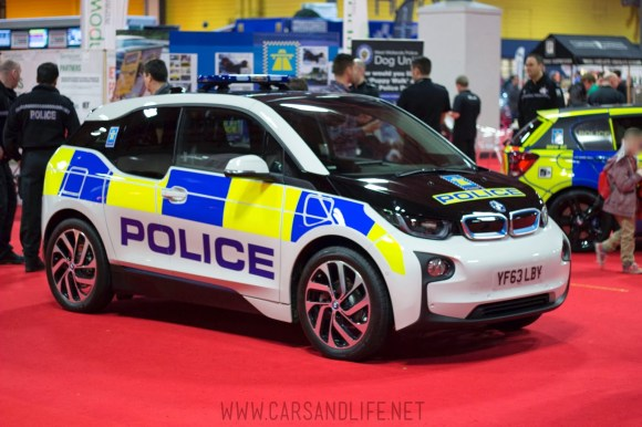 Autosport 2014 Police Cars McLaren BMW 4