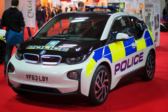 Autosport 2014 Police Cars McLaren BMW 6