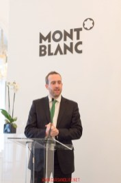 montblanc black and white event in london 1