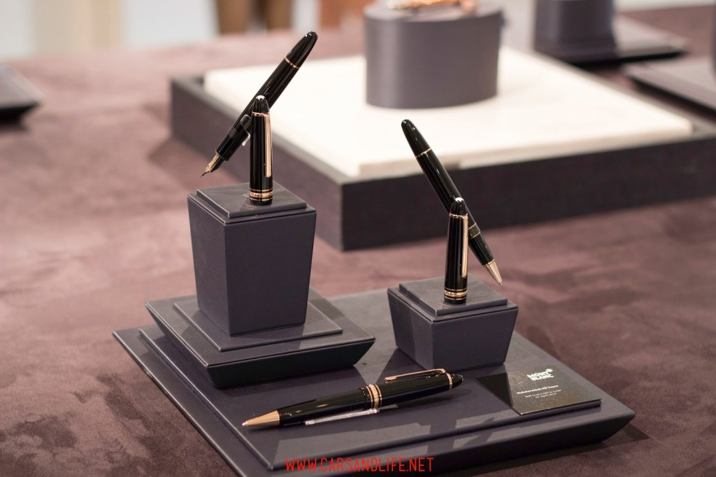montblanc black and white event in london 11