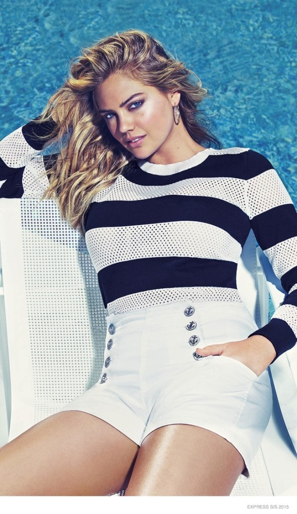 Kate Upton Express Ad Campaign ss 2015