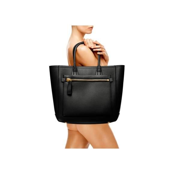 Tom Ford Tote Handbag Black