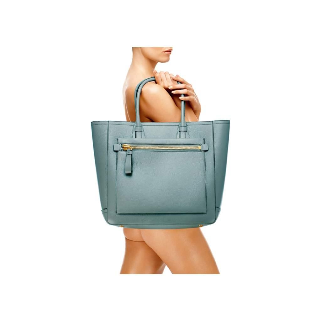 Tom Ford Tote Handbag Cloud Blue