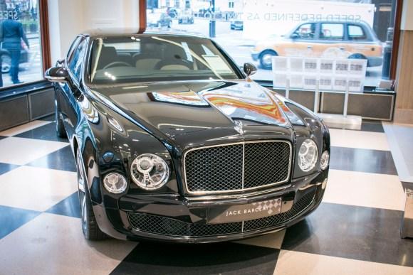 Bentley Mulsanne | Jack Barclay