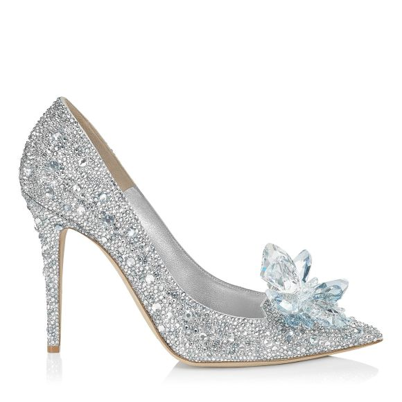 Jimmy Choo Cinderella Slippers Heels 100mm