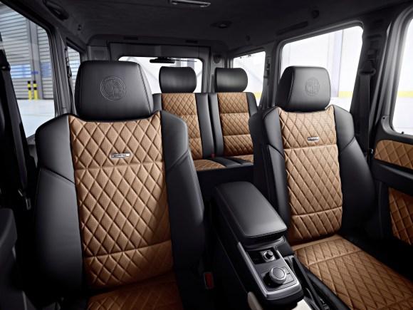 Mercedes-Benz G-Class (BR 463) 2015; AMG  G 65; Interieur: designo Nappa Leder schwarz/sand interior: designo nappa leather black/sand