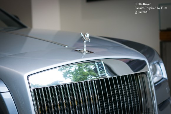 Rolls-Royce Wraith Inspired by Film