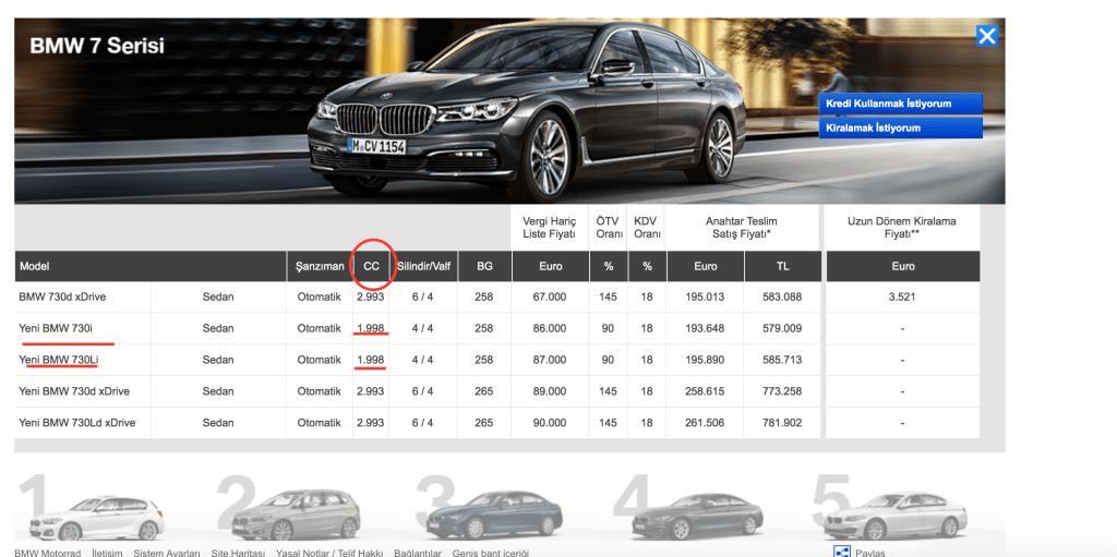 new BMW 730i