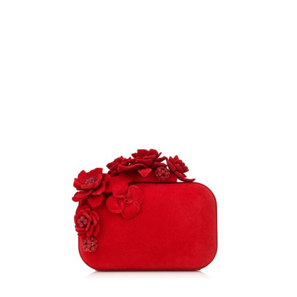 Jimmy Choo Cloud Red Mini Handbag