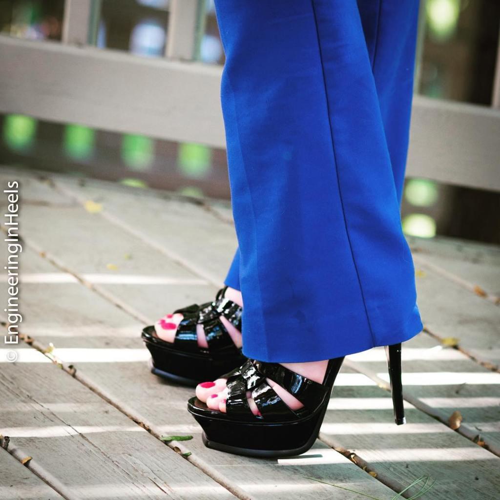 YSL Tribute High Heels Sandals EngineeringInHeels