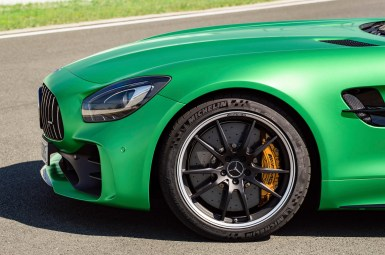 AMG GT R; 2016; Detail; AMG Performance Schmiederad exklusiv für AMG GT R ; AMG GT R; 2016; detail; AMG performance forged wheel exclusive for the AMG GT R;