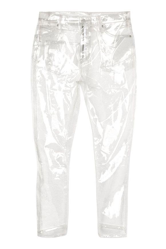 Topshop Transparent Jeans