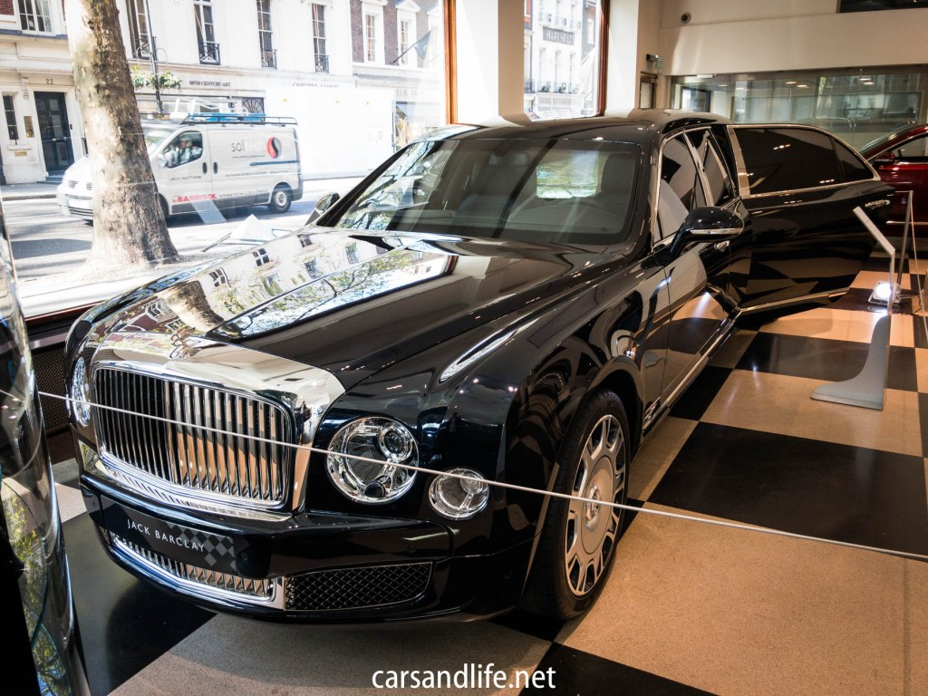 Bentley Mulsanne Grand Limousine Mulliner