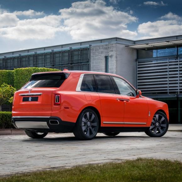 Pastel Colour Rolls Royce Cullinan