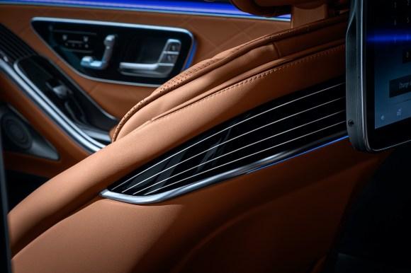 Mercedes-Benz S-Class Digital Interior W223