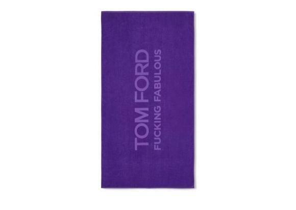 Tom Ford Beach Towel Purple