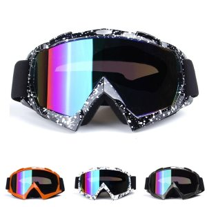 Motorcycle Protective Goggles with Colorful Lenses