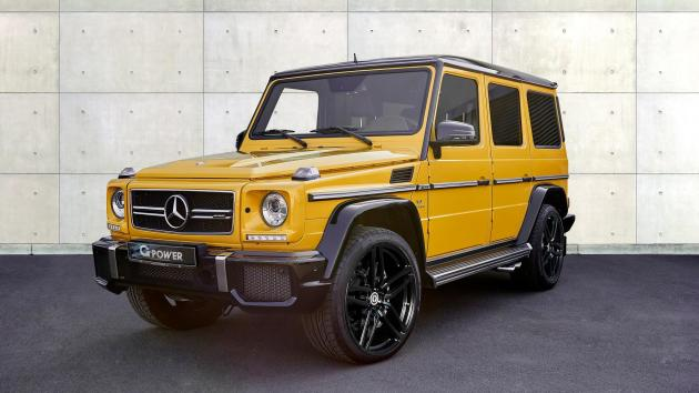 2016 Mercedes AMG G63 G-Power