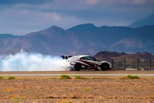 Nissan GT-R Record Drift 2016