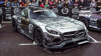 Mercedes AMG GT Gumball 3000 2016