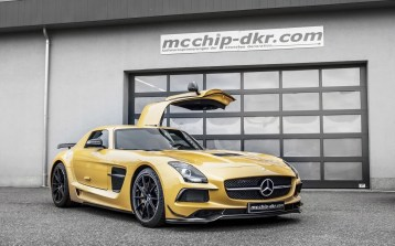 Mercedes-Benz AMG SLS Black Series